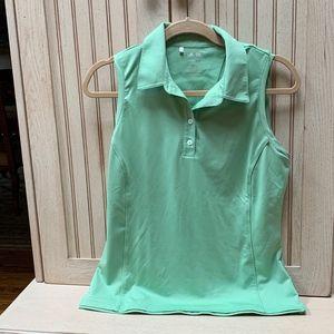 Adidas Womens Golf/Tennis Shirt - GREEN
